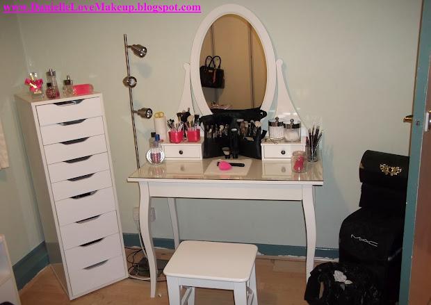 Daniellelovemakeup Updated Makeup Storage - Ikea